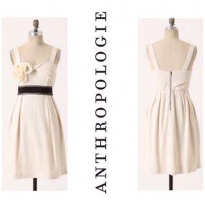 Anthropologie Deletta Breakfasting Cocktail Dress